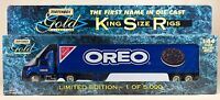 Matchbox Gold Collection King Size Rigs Oreo In Box 1996
