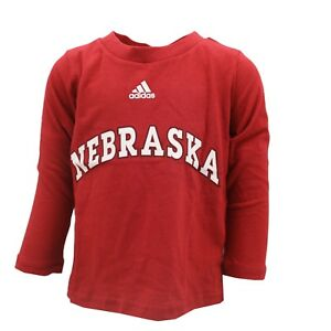 021e08fb6 Image is loading Nebraska-Cornhuskers-NCAA-Adidas-Infant-Toddler-Size-Long-