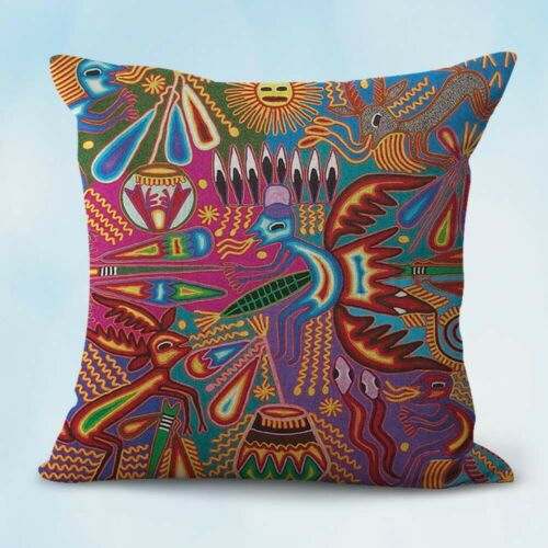 set of 10 pillow cases cheap Mexican art Diego Rivera cushion covers