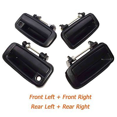 For 88-92 Corolla Rear Outside Outer Exterior Door Handle Left /& Right SET PAIR