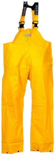 Ölzeug PVC Regenhose/-Latzhose S OCEAN 4XL / gelb / orange / oliv