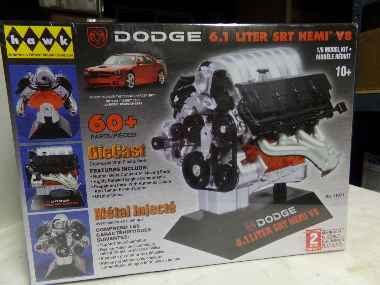 DODGE 1 6 SCALE 6.1SRT HEMI MOTOR KIT