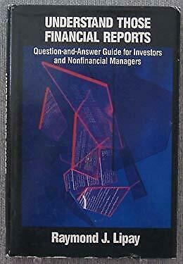 Understand Those Financial Reports : Question and Answer Guide for Inv-ExLibrary