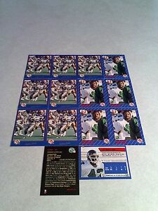 Eddie-Lowe-Lot-of-22-cards-3-DIFFERENT-Football-CFL