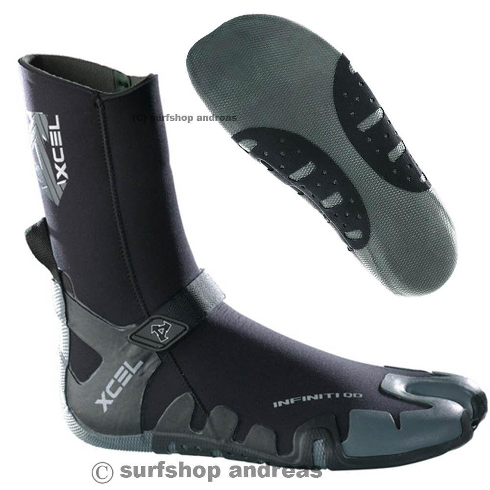 Xcel Xcel Xcel Neopren Schuh Stiefel INFINITI Split Toe 5mm Schwarz Surfschuhe 7cdc2b