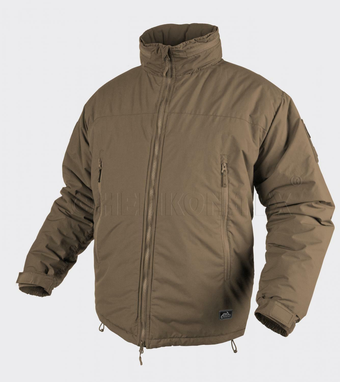 Helikon Tex Level 7 Apex Climashield Cold Weather Giacca Jacket Coyote Lgree
