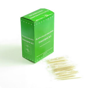 Single-Wrapped-Plastic-Toothpicks-Choose-200-600-Top-Quality-tooth-pick-SYD