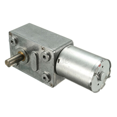 DC 12V 0.6RPM Gearbox Reduction Electric High Torque Turbo worm Geared motor