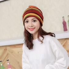 item 4 Women Stripe Hat Ruffle Cancer Hat Beanie Scarf Collar Turban Head  Wrap Cap -Women Stripe Hat Ruffle Cancer Hat Beanie Scarf Collar Turban  Head Wrap ... dc275ec65baf