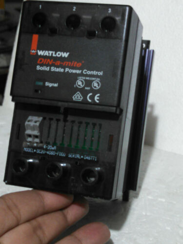 Watlow DC2V-4060 Solid State Power Control 4-20mA PLC Transmitter Transducer