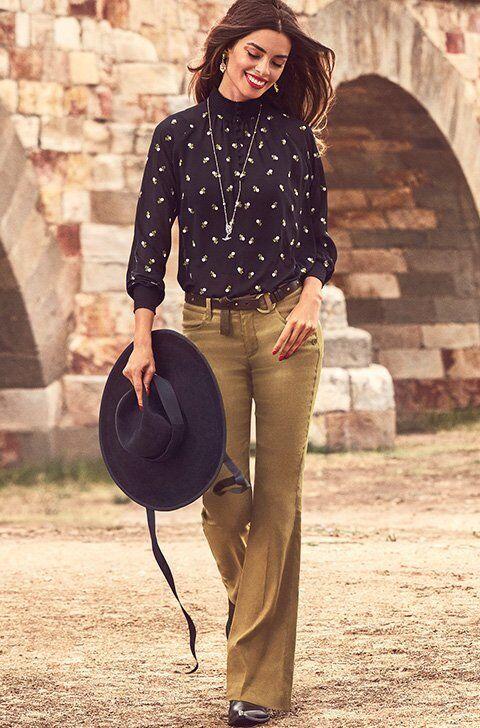CAbi Charlie Trouser, Size 10L or 2R, Bronze Olive, Linen Blend, 2018, NWT  J1
