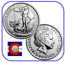 2012 Silver Britannia UK 1 oz £2 Coin in original Mint packaging