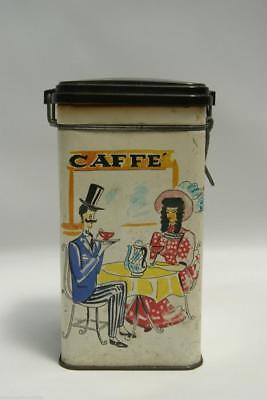 Angemessen Box Aus Blech Saicaf S.a.i.c.a.f. Bari Sao Café 1940 Pagani-lecco Vintage