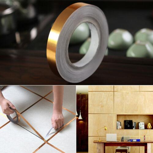 Foil Strip Self Adhesive Tile Sealing Tape Waterproof Mildewproof PVC Home Decor