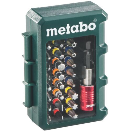 "Metabo Bit-Box /""Promotion/"" 32 teilig mit Farbcodierung 6.26700.00"