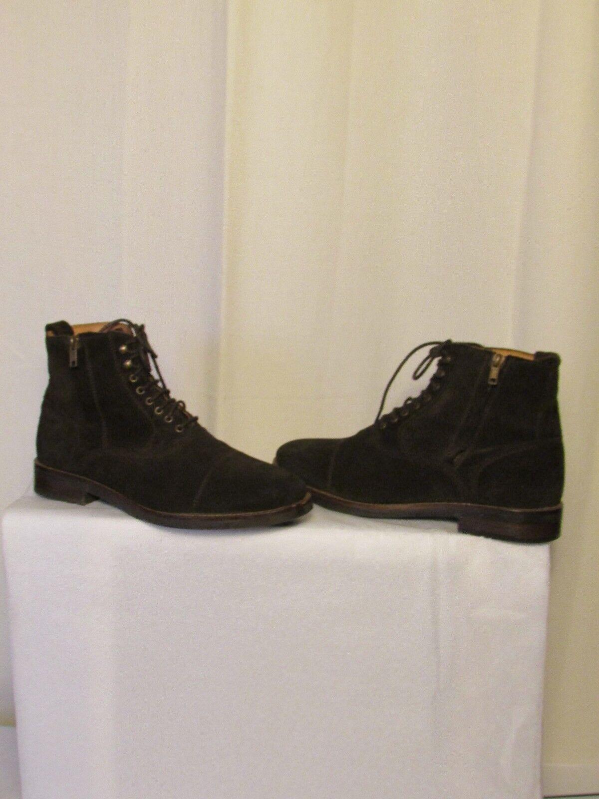 Boots/bottines Massimo Dutti daim marron 42