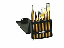 Mannesmann Pin Punch <> Taper Punch Set 6pc. Octagonal Chisel Set VPA GS TUV