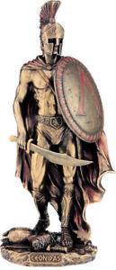 Leonidas the king of Sparta Cold Cast Bronze  statue 26 cm - 10.23 inches