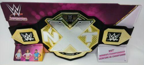 WWE NXT SUPERSTARS WOMEN/'S CHAMPION Bambini Giocattolo Replica Play titolo Cintura-NUOVO W17