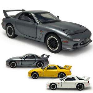 1-32-Mazda-RX-7-Die-Cast-Modellauto-Auto-Spielzeug-Model-Sammlung-Geschenk