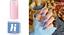 miniatura 130 - HI HYBRID UV LED Gel Polish Semilac Base Extend Top No Wipe Colors 099-431 IT