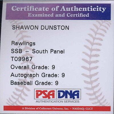 Autographed Baseball - Shawon Dunston
