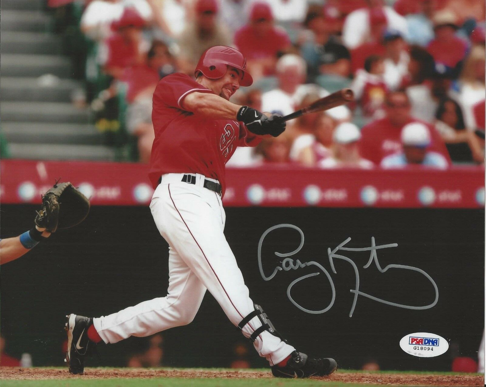 Casey Kotchman Los Angeles Angels signed 8x10 photo PSA/DNA # G18094