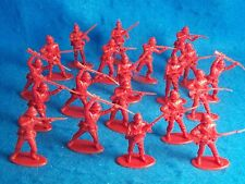 ZULU Wars, BRITISH 24th foot Infantry (Red) 20 figures  (54MM) A call to Arms