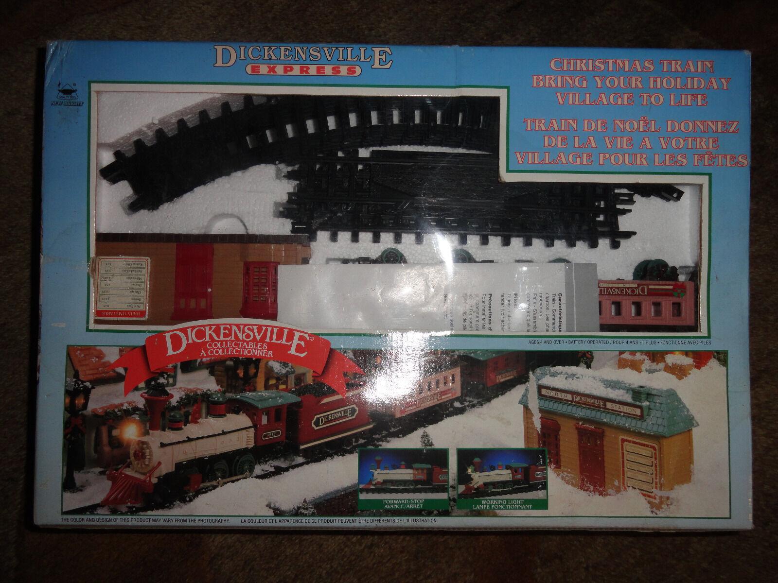 envío rápido en todo el mundo Tren De Navidad dickensville Express 1996 aún en en en paquete (nuevo)  mejor servicio