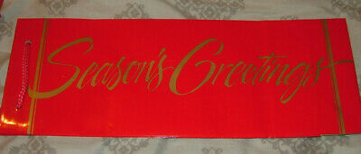 NWT VINTAGE Decorative Gift Bag FOR ANYTIME   FREE SHIPPING IN USA