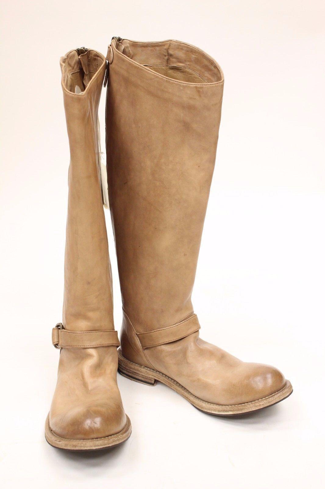 BRUNELLO CUCINELLI marron fashion bottes Taille 10 ITALY 40 NEW
