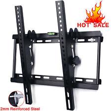 TILT TV WALL BRACKET MOUNT LCD LED PLASMA 32 37 40 42 46 50 52 55 INCH LG SONY