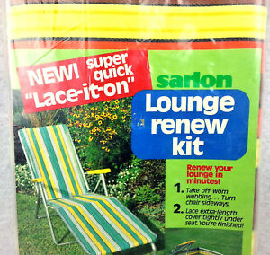Tremendous Details About Sarlon Lounge Renew Kit Standard Size K320 Lace It On Easy Repair Tanning Chair Ocoug Best Dining Table And Chair Ideas Images Ocougorg