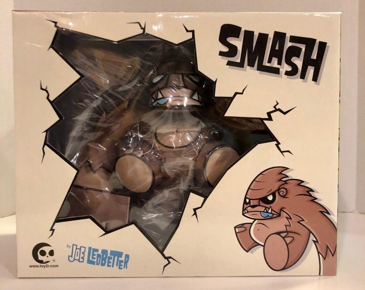 Toy2R Joe LEDBETTER 2008 Smash 7  Figurine en vinyle marron édition limitée