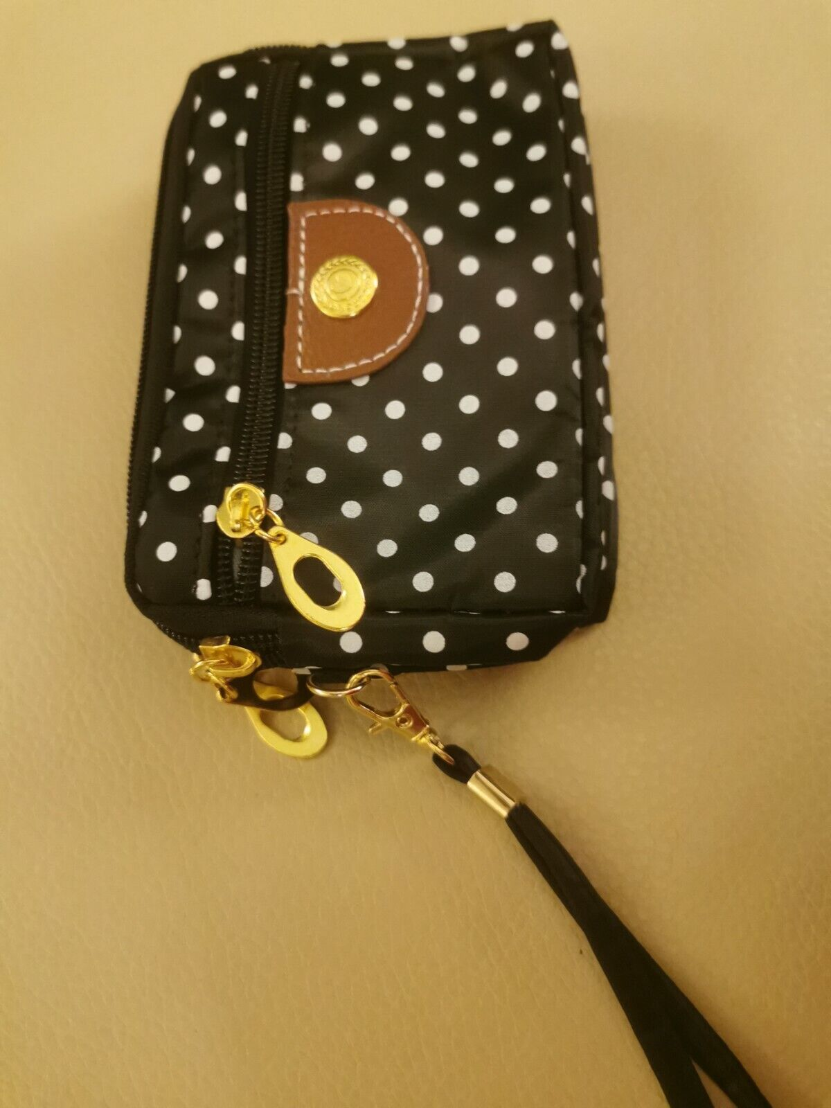 Navy and white purse, carry purse . Handy gift Uk only