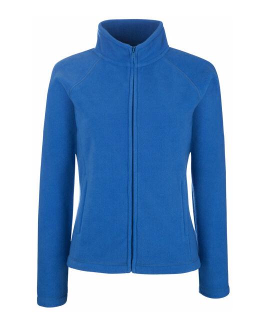 Lady-Fit Fleece Jacke NEU ladies jacket damen FRUIT OF THE LOOM