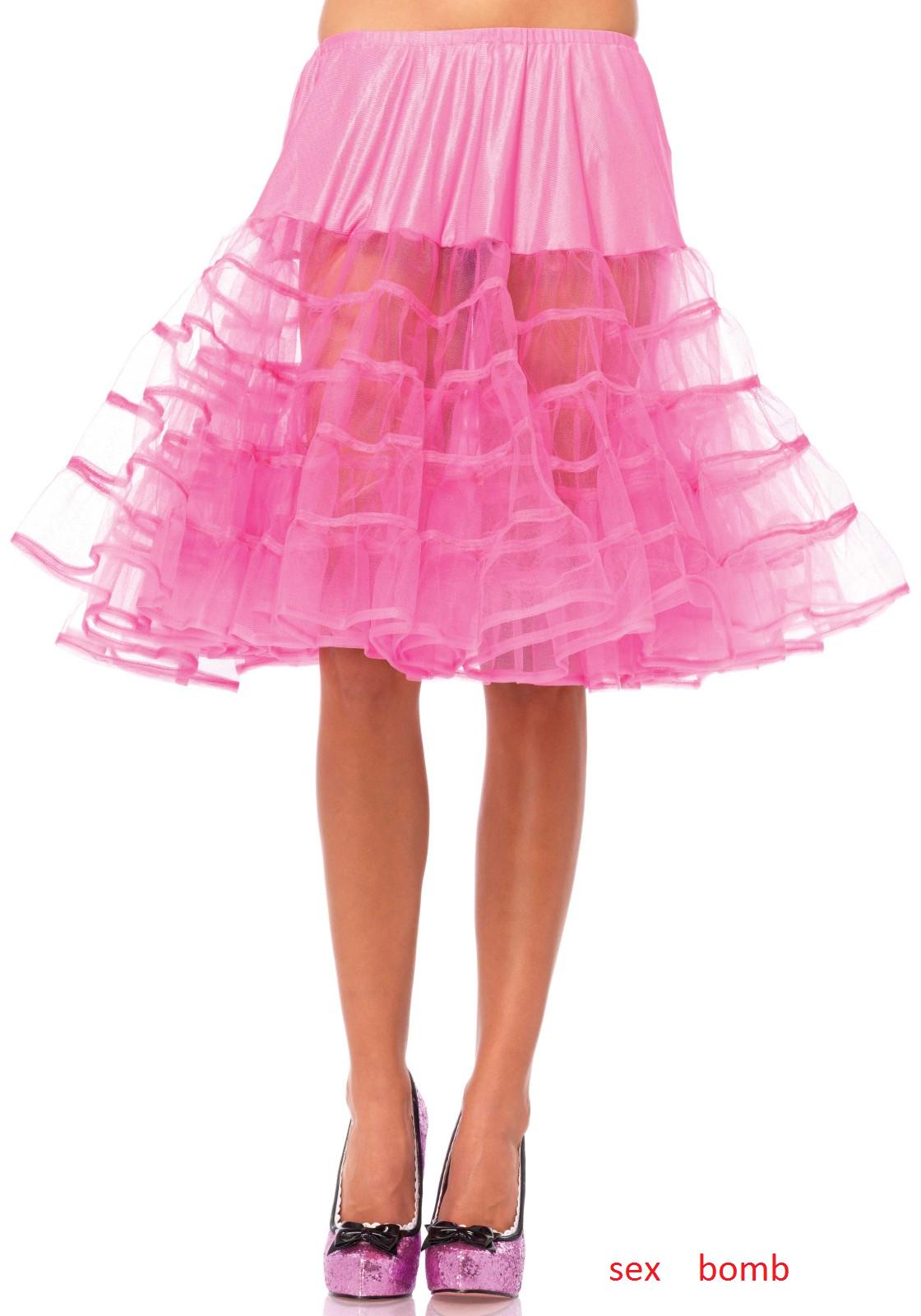 SEXY Petticoat Petticoat Petticoat Sottogonna rosa ACCESO Lunghezza Media tag. unica Fashion GLAMOUR 874a92