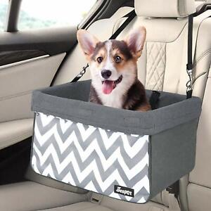 JESPET-Dog-Booster-Seats-for-Cars-Portable-Dog-Car-Seat-Travel-Carrier