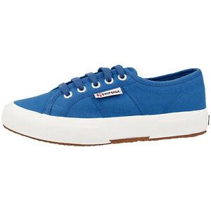 Superga 2750 COTU CLASSIC Scarpe SEA BLUE s000010g03 Sport Sneaker Tempo Libero