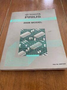 2008 Toyota Prius Electrical Wiring Diagram Manual 1.5L ...