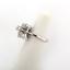 Estate-14K-White-Gold-Floral-Diamond-Ladies-Ring-0-50-TW-Round-Diamonds-Size-4-5 thumbnail 6