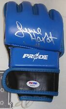 Lenne Hardt Signed Pride FC MMA Glove PSA/DNA COA UFC Ring Announcer Autograph
