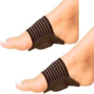 2x-Mittelfussbandage-Fussbandage-Fuss-Fussbandage-Elastische-Bandage-mit-Pelotte