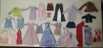 Raro Lotto 23 vestiti Barbie Tutti Marcati Etichette Vintage Barbie Superstar | eBay