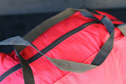 Cover King Stormproof Red Cotton Zippered Storage Duffel Bag for Car Covers