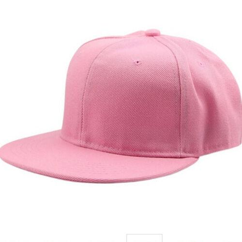 Fashion Plain Baseball Caps Womens Visor Adjustable Hip Hop Snapback Unisex CB