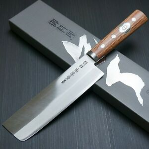 Tojiro Yasuki Sirogami White Steel Santoku Kitchen Knife Japan F A