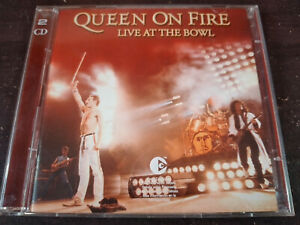 QUEEN - Queen On Fire (Live At The Bowl) 2XCD Classic Rock / Hard Rock