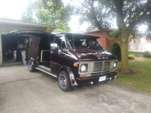 1977 GMC vandura customized