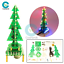 thumbnail 2 - Rotating Music Colorful Christmas Tree LED Water Lamp+Breathing Light DIY Kits